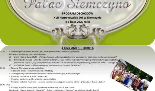 XVII Henrykowskie Dni w Siemczynie